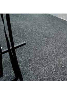 Rubber roll floorings