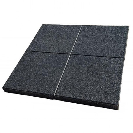 Fine-grained Solid Rubber tile